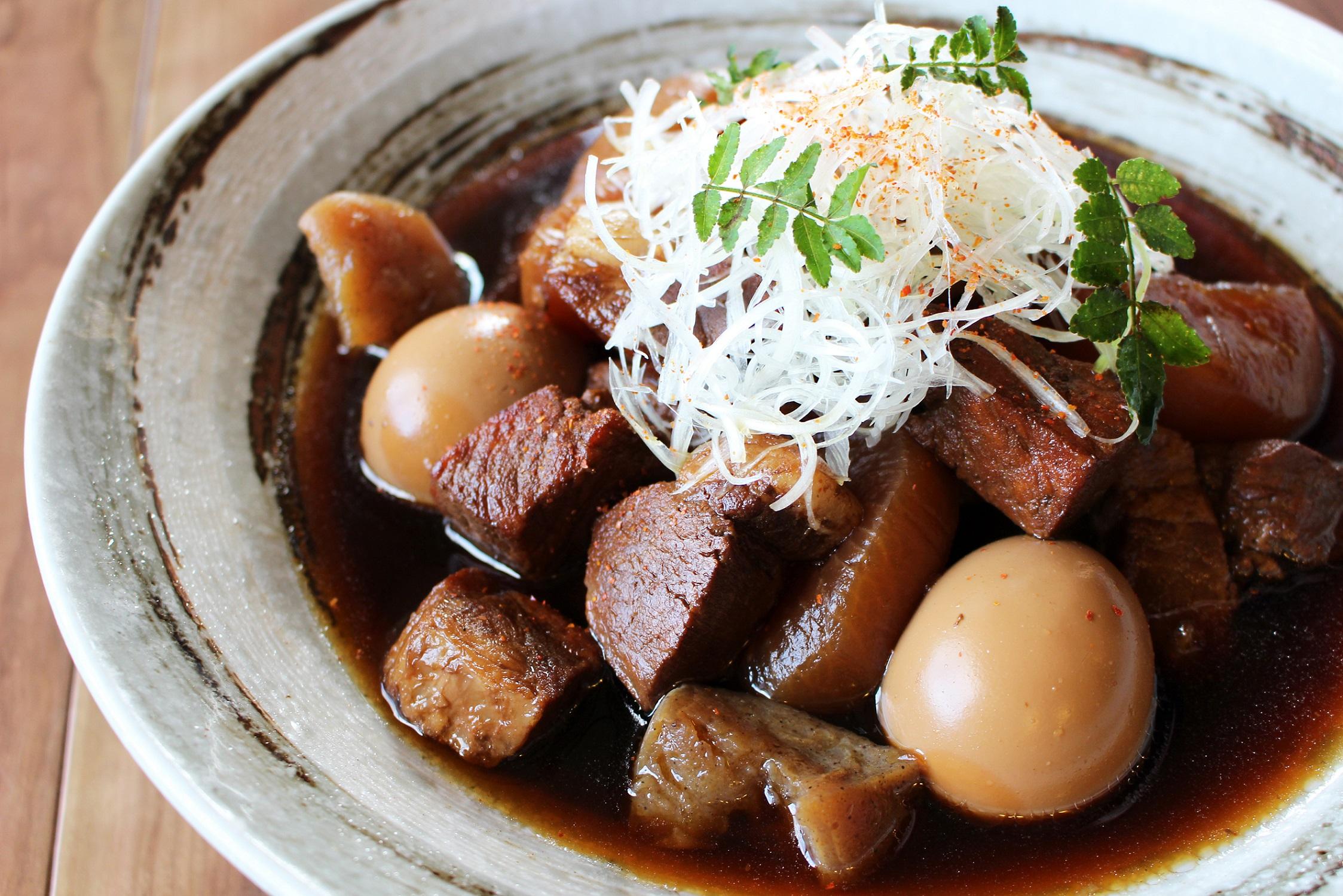 紀州梅豚の甘辛大根煮